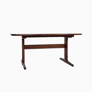 Table de Salle à Manger Ovale Mid-Century en Palissandre par Skovby