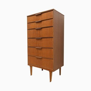 Mid-Century Teak Chest of Drawers from Austinsuite