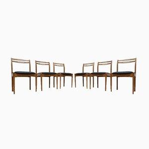 Chaises de Salon Mid-Century en Teck de Morris de Glasgow, 1960s, Set de 6