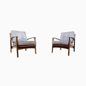 Mid-Century Teak Armchairs from Toothill, 1960s, Set of 2