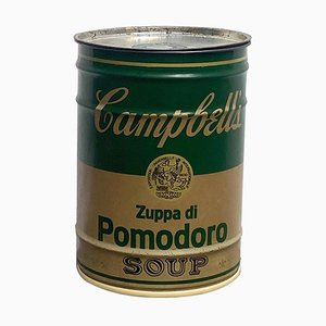 Tabouret Soupe Tomate Hommage à Andy Warhol par Dino Gavina