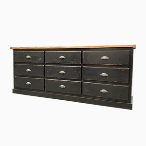 Vintage Craft Furniture with 9 Drawers