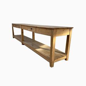 Large Antique Draper's Table