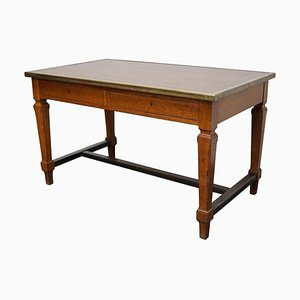 Antique Oak French Art Deco Style Desk / Writing Table, 1920s