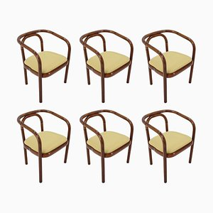 Bentwood Dining Chairs Ton, 1992, Set of 6