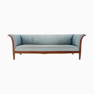 Mahogany Sofa by Frits Henningsen, Denmark, 1940s