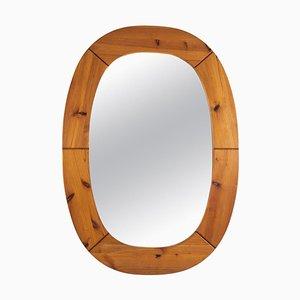 Schwedischer Spiegel aus Kiefernholz von Markaryd