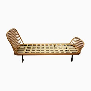 Vintage Blonde Windsor Single Bed from Ercol, 1960s
