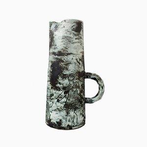 Dekorativer Krug / Vase aus Keramik von Jacques Blin, 1950er