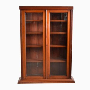Antique Victorian Glazed Bookcase