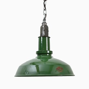 Green Industrial Pendant Light from Thorlux