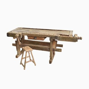 Wooden Workbench, 1930s