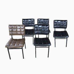 Skai Stühle, 1950er, 5er Set