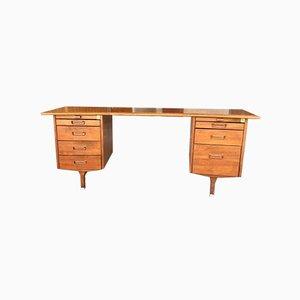 Schreibtisch mit Geschwungener Tischplatte