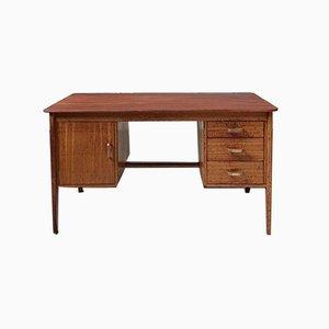 Mid-Century Industrie Büro Schreibtisch mit Zwei Pedis von Gordon Russell