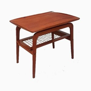 Mid-Century Teak Danish Coffee Table by Arne Olsen Hovmand