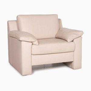 Flex Plus Cream Leather Armchair by Ewald Schillig