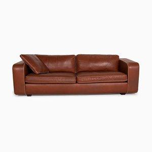 Machalke Valentino Brown Leather Sofa