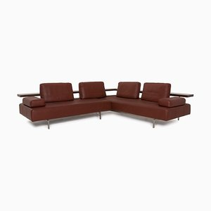 Dono Brown Leather Sofa by Rolf Benz