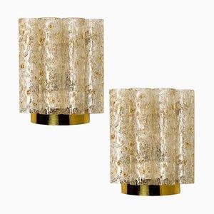 Lampade da parete di Doria, anni '60, set di 2