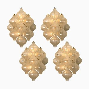 Large H 21.2 Tulipan Wall Lamps by J. T. Kalmar, 1960s
