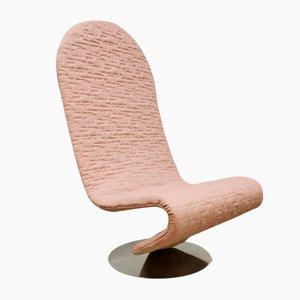 Dänischer Vintage 123 Easy Chair von Verner Panton für Fritz Hansen