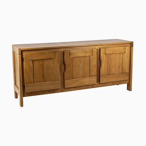 Elm Sideboard from Maison Regain, 1960s