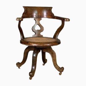 English Swivel Desk Chair