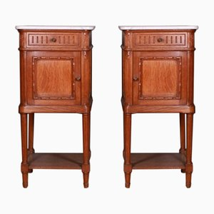 French Bedside Cupboards, Set of 2