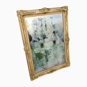 Französischer Vergoldeter Spiegel