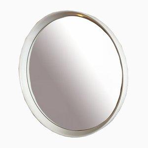 Espejo de pared grande redondo, años 70