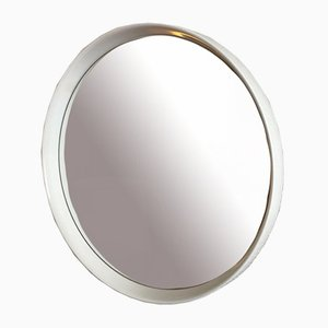 Large Round Wall Mirror, 1970s