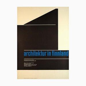 Vintage Plakat von Carl B. Graf, 1958