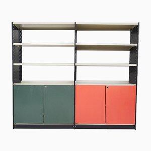 Metall Bücherregal von Friso Kramer für Stabilux