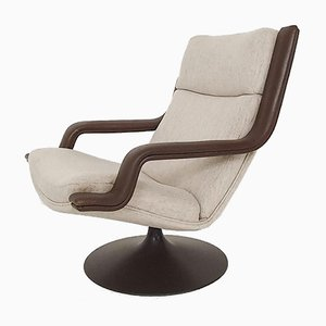 F140 Swivel Lounge Chair by Geoffrey Harcourt for Artifort, The Netherlands 1960's