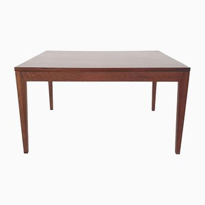 Scandinavian Rosewood Rectangle Coffee Table, 1960s