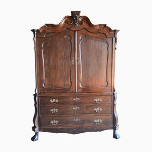 Meuble Biedermeier Antique en Pin