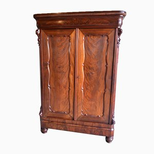 Meuble Biedermeier Antique en Acajou