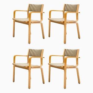 Chaises Collège Sainte Catherine par Arne Jacobsen, Set de 4
