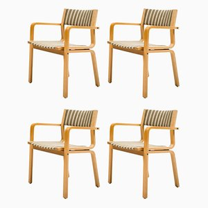 Saint Catherine College Chairs by Arne Jacobsen, Set of 4