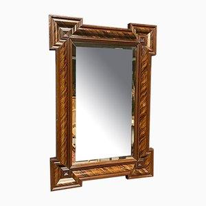 Großer Französischer Art Deco Spiegel