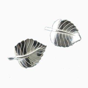 Silberne Ohrringe von Sigurd Persson, 2er Set