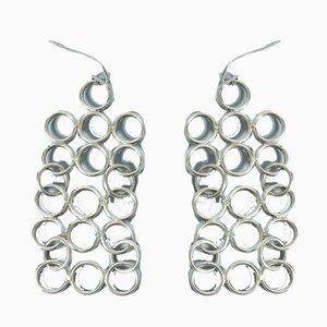 Orecchini in argento di Cecilia Johansson, set di 2