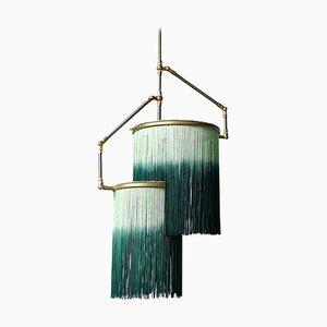 Lámpara colgante Charm en verde de Sander Bottinga