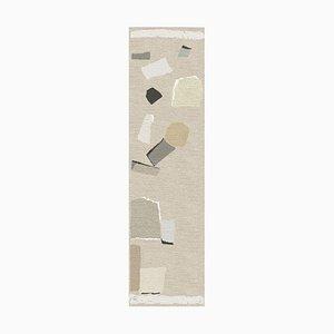 Handgeknüpfter Rhizomes Cobblestone Tabac Teppich von Charlotte Culot