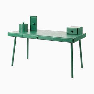 Bunter Schreibtisch aus Eschenholz von Thomas Dariel