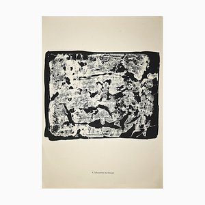 Jean Dubuffet - Silhouettes Burlesques - Lithograph - 1958