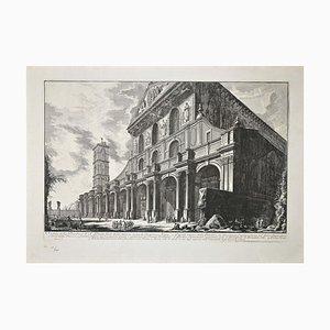 Giovanni Battista Piranesi - Veduta de la Basílica di S. Paolo Fuor delle Mura - Aguafuerte