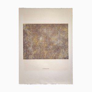 Jean Dubuffet - Champ Muet - Lithografie - 1959