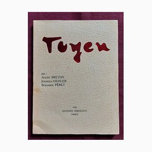 André Breton, Toyen, vintage Illustrated Book, 1953